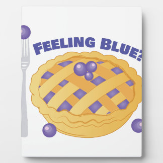 Feeling Blue Plaque