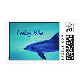 Feeling Blue Postage