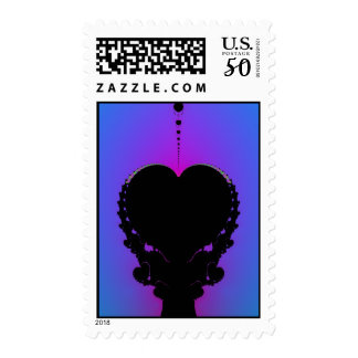 `Feeling Blue Without You Postage Stamp