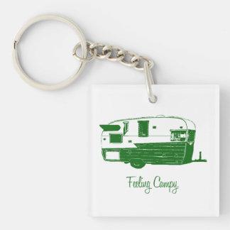 Feeling Campy keychain