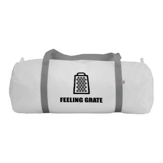 Feeling Cheese Grater Gym Bag
