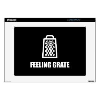 Feeling Cheese Grater Laptop Decal