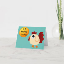 Feeling Clucky Holiday Card