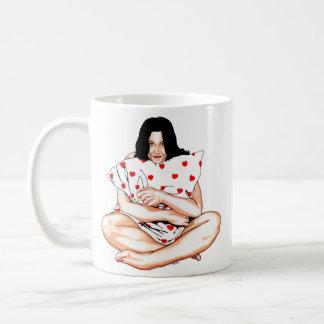 Feeling Cozy [left handed] Coffee Mug