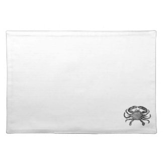 Feeling Crabby Black Placemat