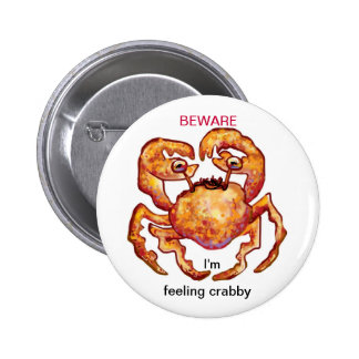 feeling crabby button