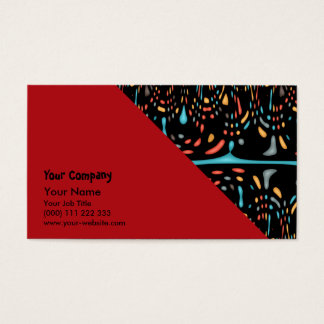 Feeling divided business card