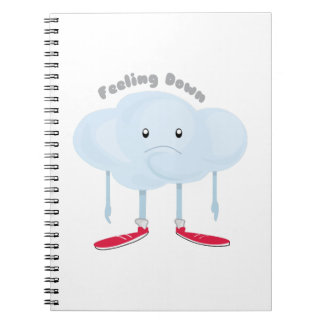 Feeling Down Spiral Notebook
