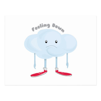 Feeling Down Postcard