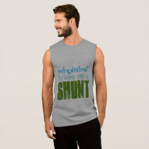 Feeling Drained? Sleeveless Shirt