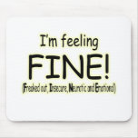 feeling fine mouse pads