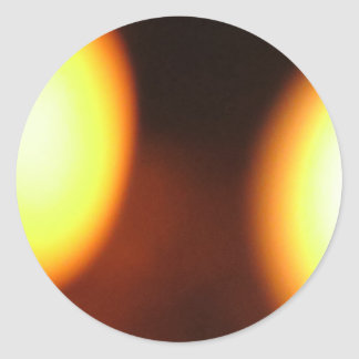 Feeling FLAME emotional photography Classic Round Sticker