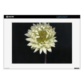 Feeling Flower on black Laptop Decals