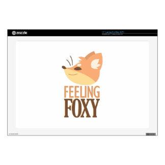 Feeling Foxy Laptop Skin