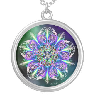Feeling Free - Empowering Round Pendant Necklace
