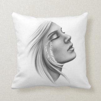 Feeling Free Spiritual Feather Pillow