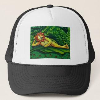 Feeling Frisky- By Sally Stevens Trucker Hat