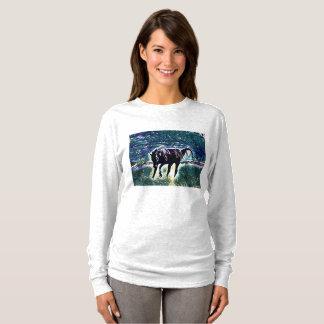 Feeling Frisky Horse Art T-Shirt
