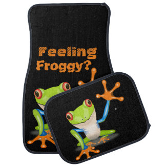 Feeling Froggy? - Tree Frog Car Mat