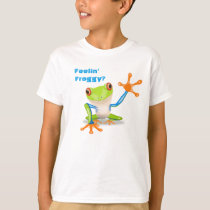 Feeling Froggy? - Tree Frog T-Shirt