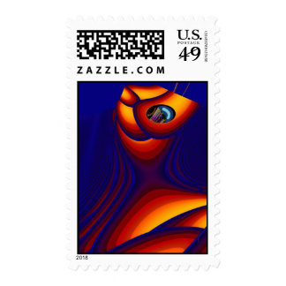 Feeling good and strong postage stamp