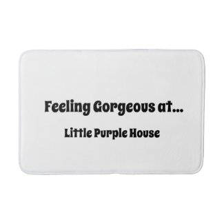 Feeling Gorgeous Bath Mat!