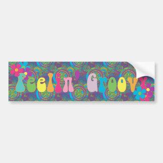 Feeling Groovy Bumper Stickers