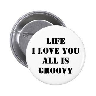 Feeling Groovy Pins
