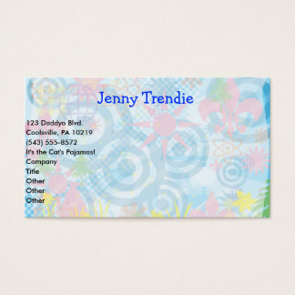 Feeling Happy Business Card