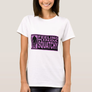 Feeling Kinda Squatchy - Finding Bigfoot Purple T-Shirt