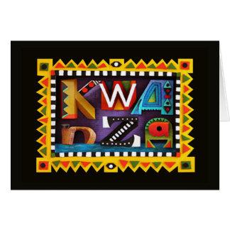 Feeling Kwanzaa Holiday Greeting Cards