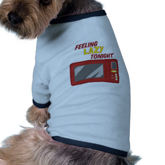 Feeling Lazy Dog T-shirt