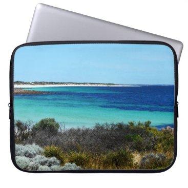 Beach Themed Feeling Like Beach Day Out, 15 Inch Laptop Sleeve. Laptop Sleeve