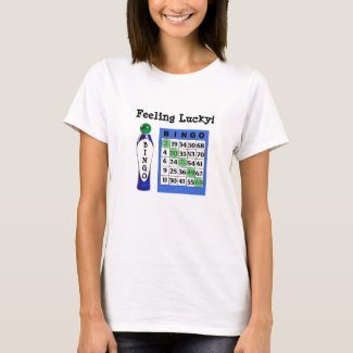 Feeling Lucky BINGO Shirt