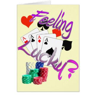 Feeling Lucky? Card