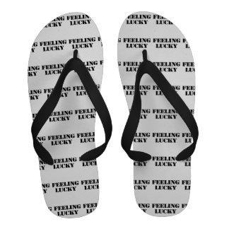 Feeling Lucky Sandals