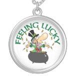 Feeling Lucky Leprechaun Necklace