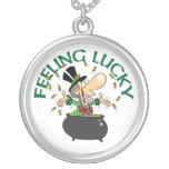 Feeling Lucky Leprechaun Necklace Necklaces