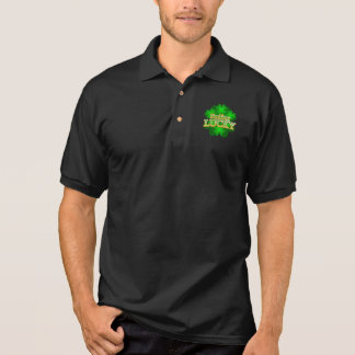 Feeling Lucky Men's dark collar T-Shirt