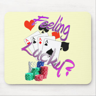 Feeling Lucky? Mouse Pad