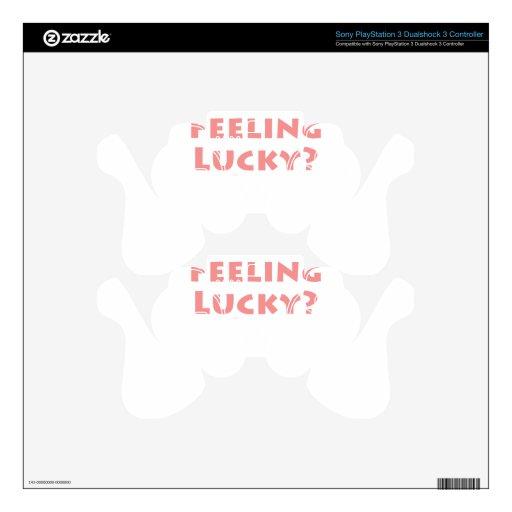 Feeling Lucky?? PS3 Controller Skin
