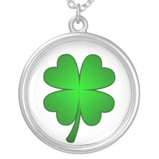 Feeling Lucky shamrock Necklace