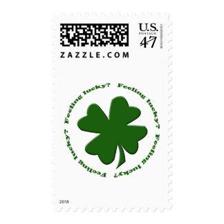 Feeling Lucky? Stamp