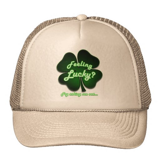 Feeling Lucky? Try asking me out Mesh Hat