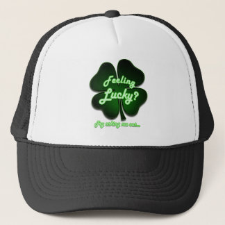 Feeling Lucky? Try asking me out Trucker Hat