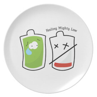 Feeling Mighty Low Party Plate