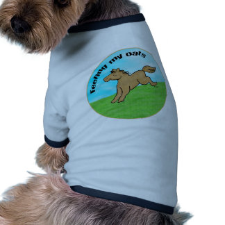 Feeling My Oats Pet T-shirt
