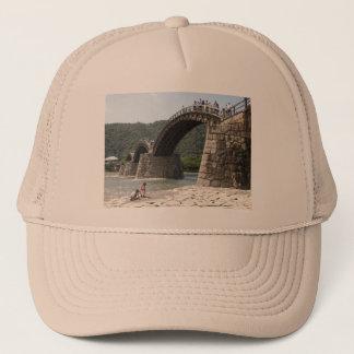 Feeling on brocade band bridge good certain day trucker hat