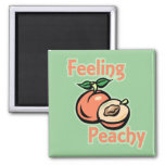 Feeling Peachy Magnet