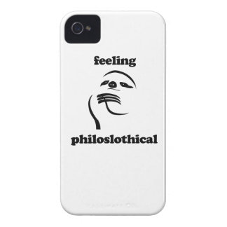 Feeling Philoslothical Case-Mate iPhone 4 Case